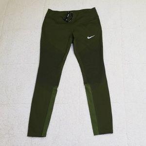 Nike leggings olive M